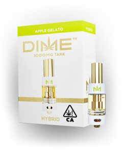 DIME 1000mg Cartridge - Apple Gelato