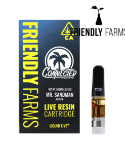 Mr. Sandman Live Resin Cartridge