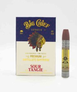 Big Chief THC Cartridge 1G - Sour Tangie