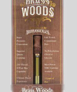 Buy Brass Knuckles Brass Woods High THC Cartridges